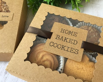 Cookie box large. Digital cutting file for your Silhouette Cameo