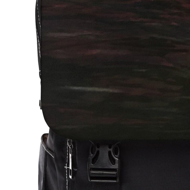 Deep Night Casual Shoulder Backpack