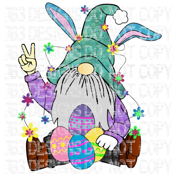 Easter Spring Gnome