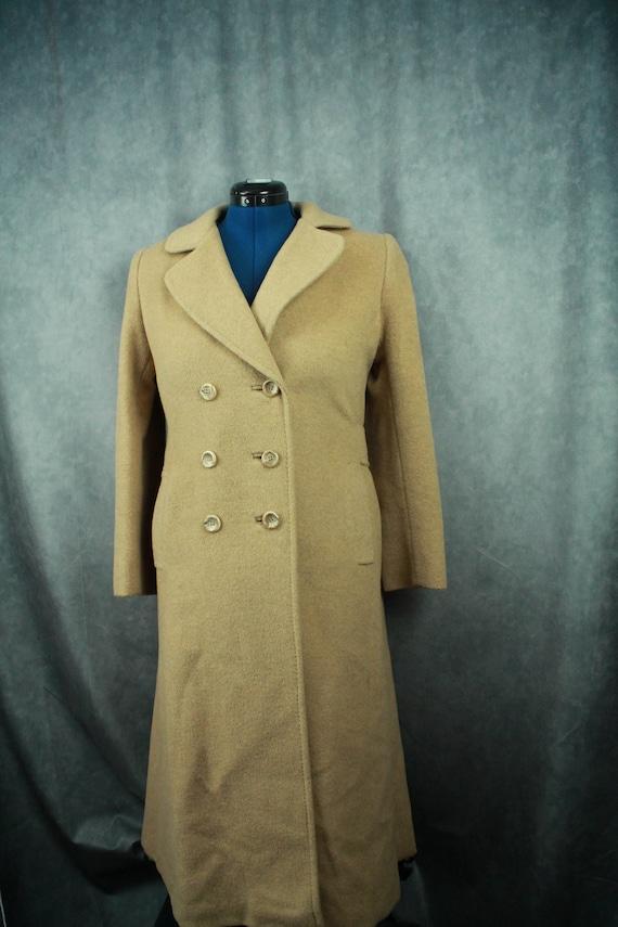 Vintage Camel Hair Coat