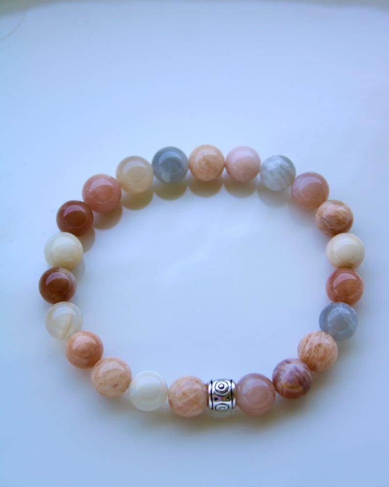 Sunstone Stretch Bracelet Sunstone Beaded Bracelet Gemstone Beaded Sunstone Bracelet for Women Sunstone Bracelet Healing stones,Reiki