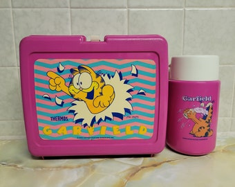 Vintage Garfield Lunchbox and Thermos