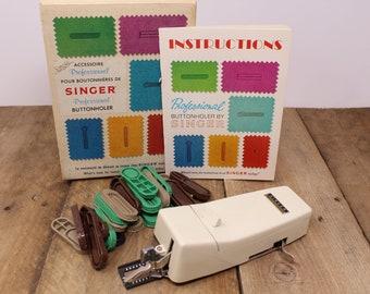Vintage Singer Professional Buttonholer - 391116
