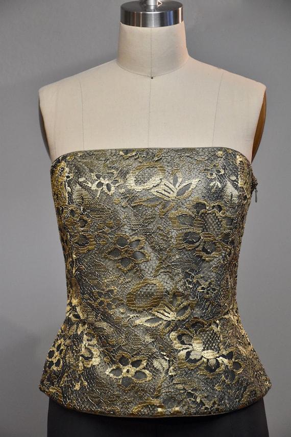 Lace ESCADA bustier / corset