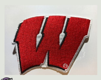 Badger School Badge Iron On Embroidery Applique Patch Sew Iron Badge