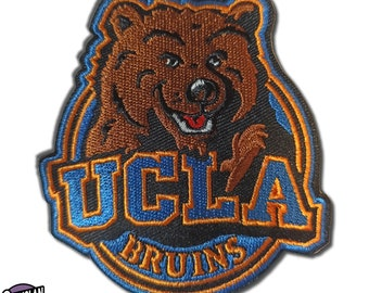 Vtg UCLA Bruins NCAA College Team Iron//Sew-On Patch