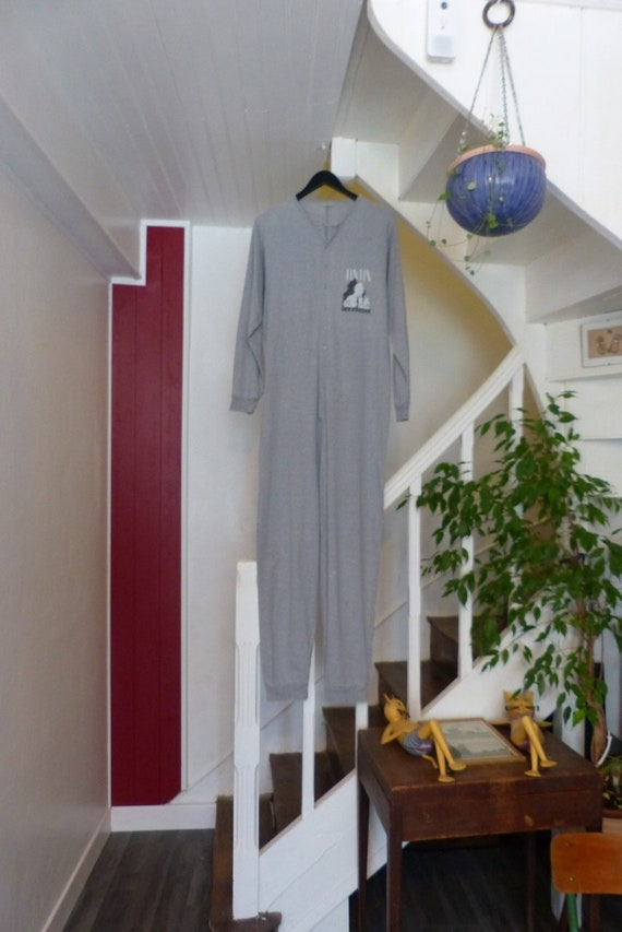 1990s . Pyjamas combination TINTIN in cotton. (For