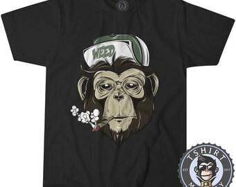 "grafitti art MENS//LADIES BIRTHDAY GIFT IDEA /""Cheeky Monkey/"" BANKSY T-shirt"