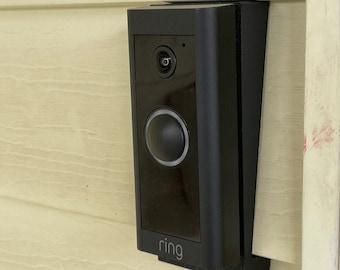 BEST SELLER 2021 Ring Wired Doorbell Vinyl Siding Mount Angle Adjustment Mount Wedge Active