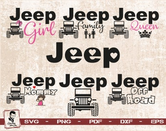 Jeep Life Svg Jeep Front Svg Jeep Dxf Jeep Png Jeep Etsy