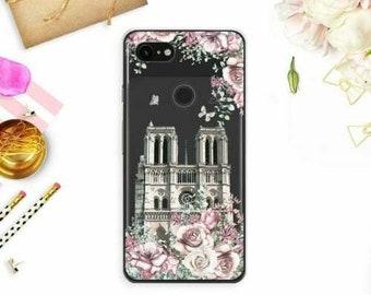 The Eiffel Tower Paris City Wine Glass Hard Cover Case iPhone GOOGLE FIXEL 2XL