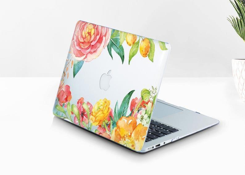 Flowers Macbook Pro 16 Case 13 Inch Macbook Air Case Roses Macbook Pro 13 Inch Case Clear Laptop Case Floral Macbook Pro 15 Inch BD2326
