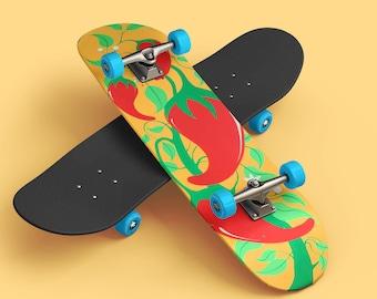 Custom, Hand Painted Skateboards