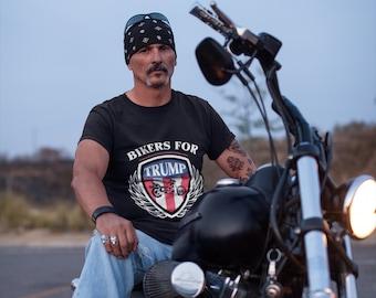 Bikers for Trump 2024 Tank Top Donald Trump Motorcycle Rally MAGA Men/'s Top