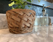 Vintage basket planter