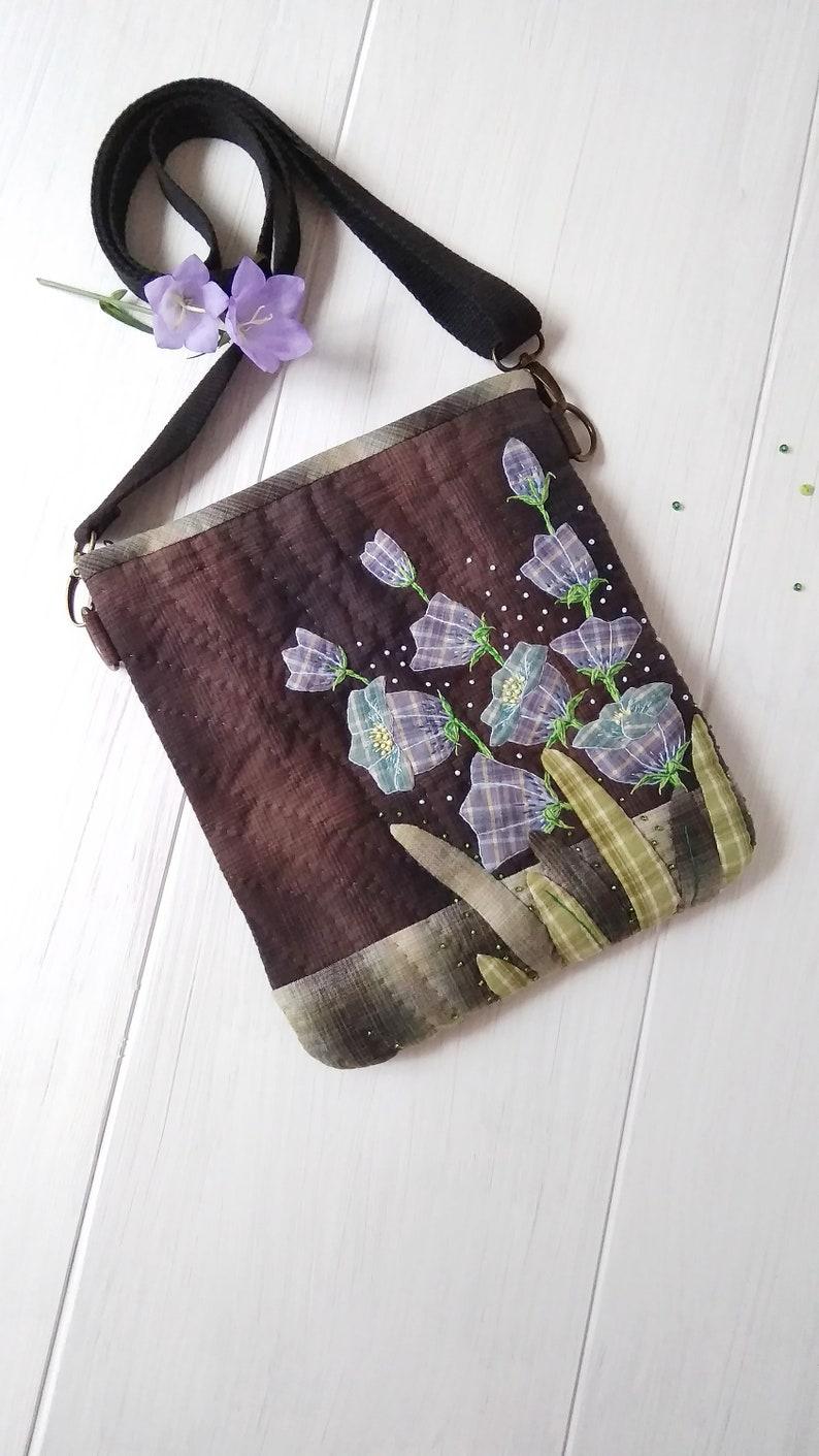 Bag Bells handmade Patchwork Women/'s shoulder bag Handbag with embroidery