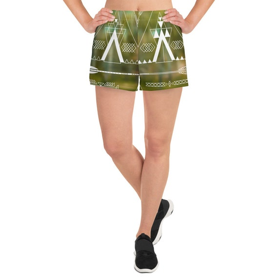 Native Fitness - Women's Athletic Short Shorts