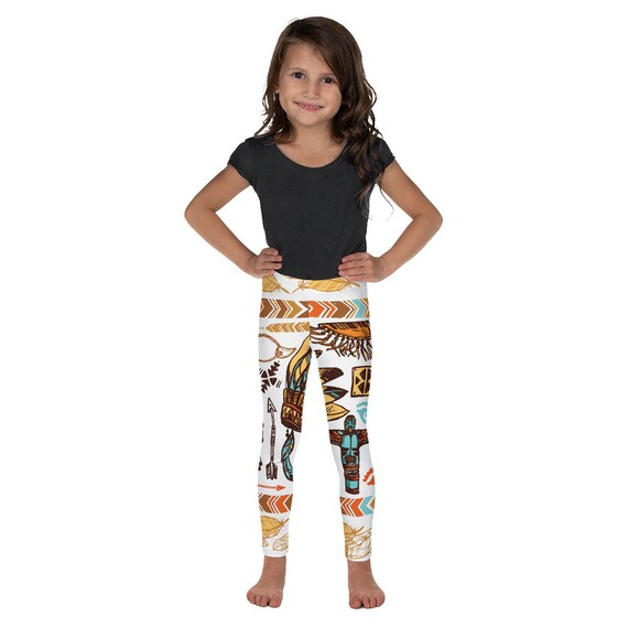 Iconic - Kid's Leggings Native American Print