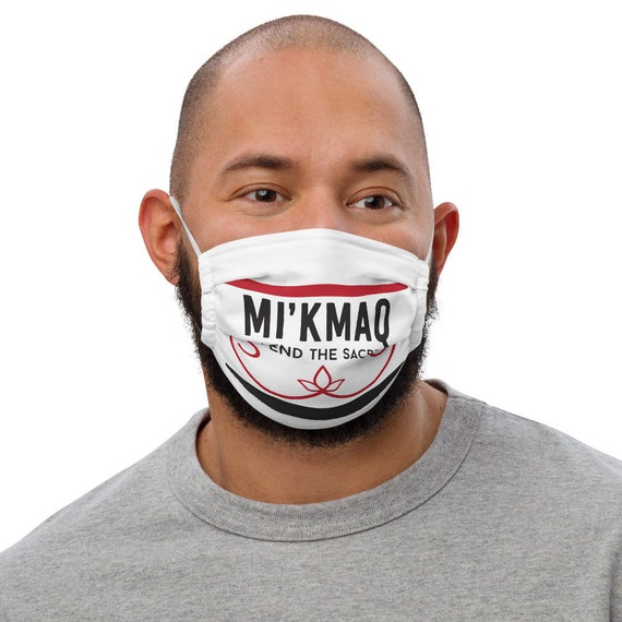 Mi'Kmaq - Defend the Sacred - Face mask