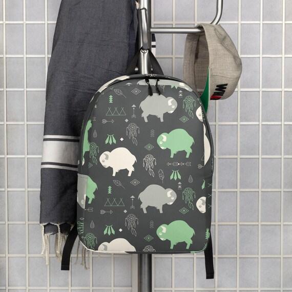 Buffalo Print - Minimalist Backpack