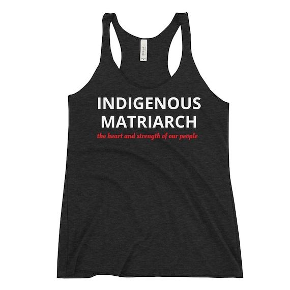 Indigenous Matriarch - Women's Racerback Tank