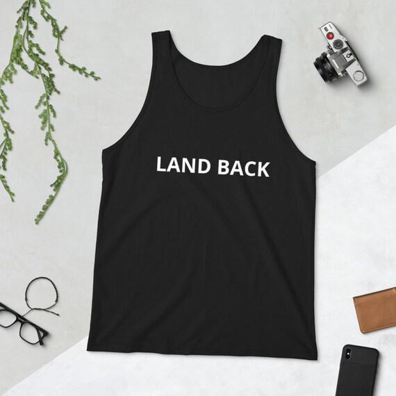 LAND BACK - Unisex Tank Top