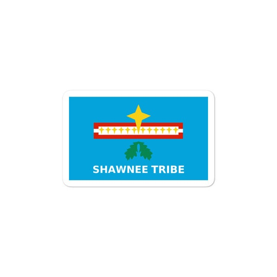 Shawnee Tribe Flag - Bubble-free stickers