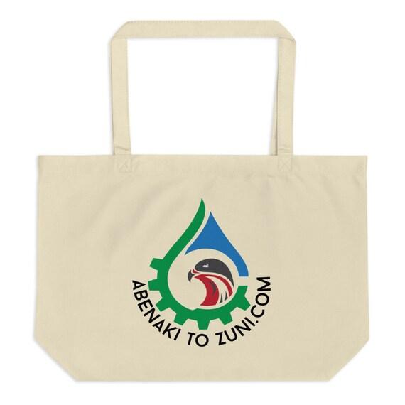 Large Logo Abenaki to Zuni - organic tote bag