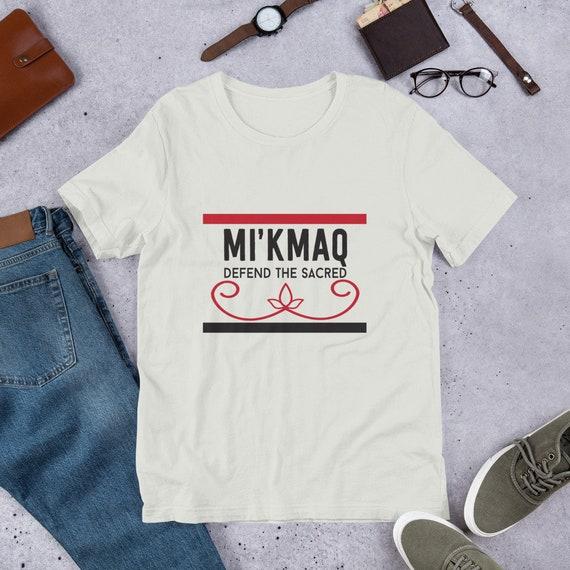 Mi'kmaq - defend the Sacred -  Short-Sleeve Unisex T-Shirt