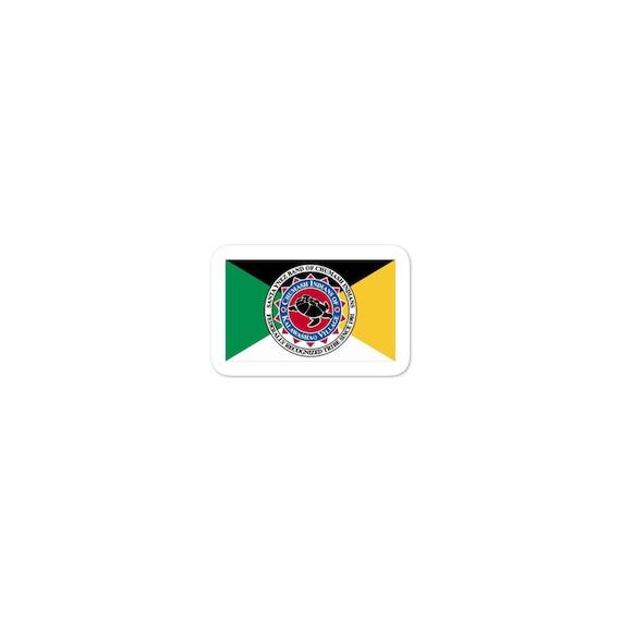 Chumash Tribe Flag - Bubble-free stickers