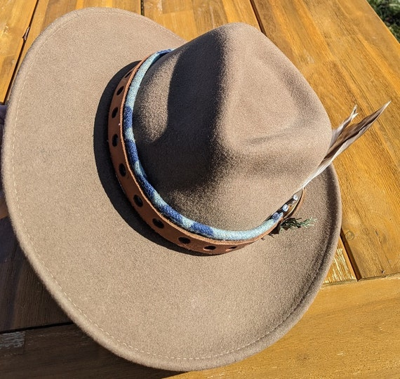 Megeso Cowboy Hat - Dawnland Collection - Size Medium - One of a Kind