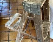 Vintage Stepladder, Wooden Stepladder