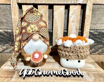 Pumpkin Pie Gnome/Fall Gnome/Pumpkin Gnome