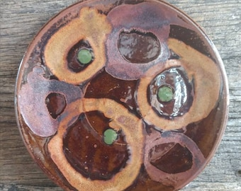 Brown Lolaware small plate