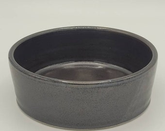 Modern Satin Black Bowl