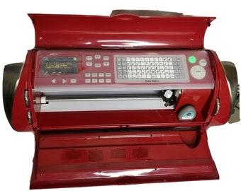 Cricut Cake Personal Electric Cutting Machine Provo Craft Red Power Cord Nice