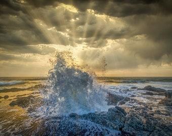 Thor's Well, Oregon Coast, USA