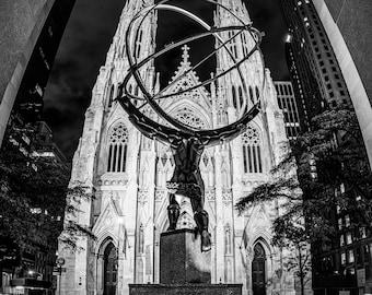Atlas at St. Patrick's Cathedral