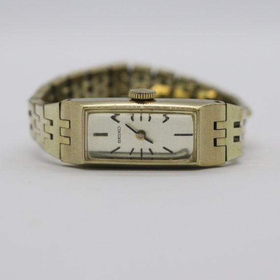 Rare Slim Vintage Seiko Watch / Ladies Petite Watc