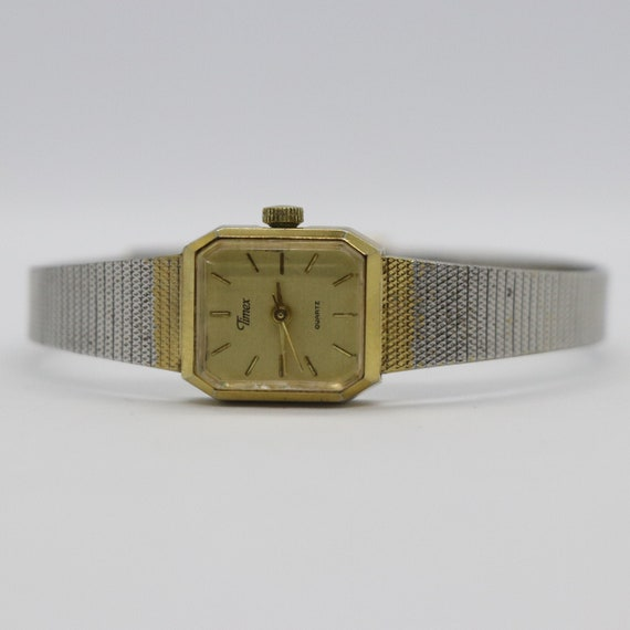Vintage Timex Watch / Ladies Timex / Square Watch