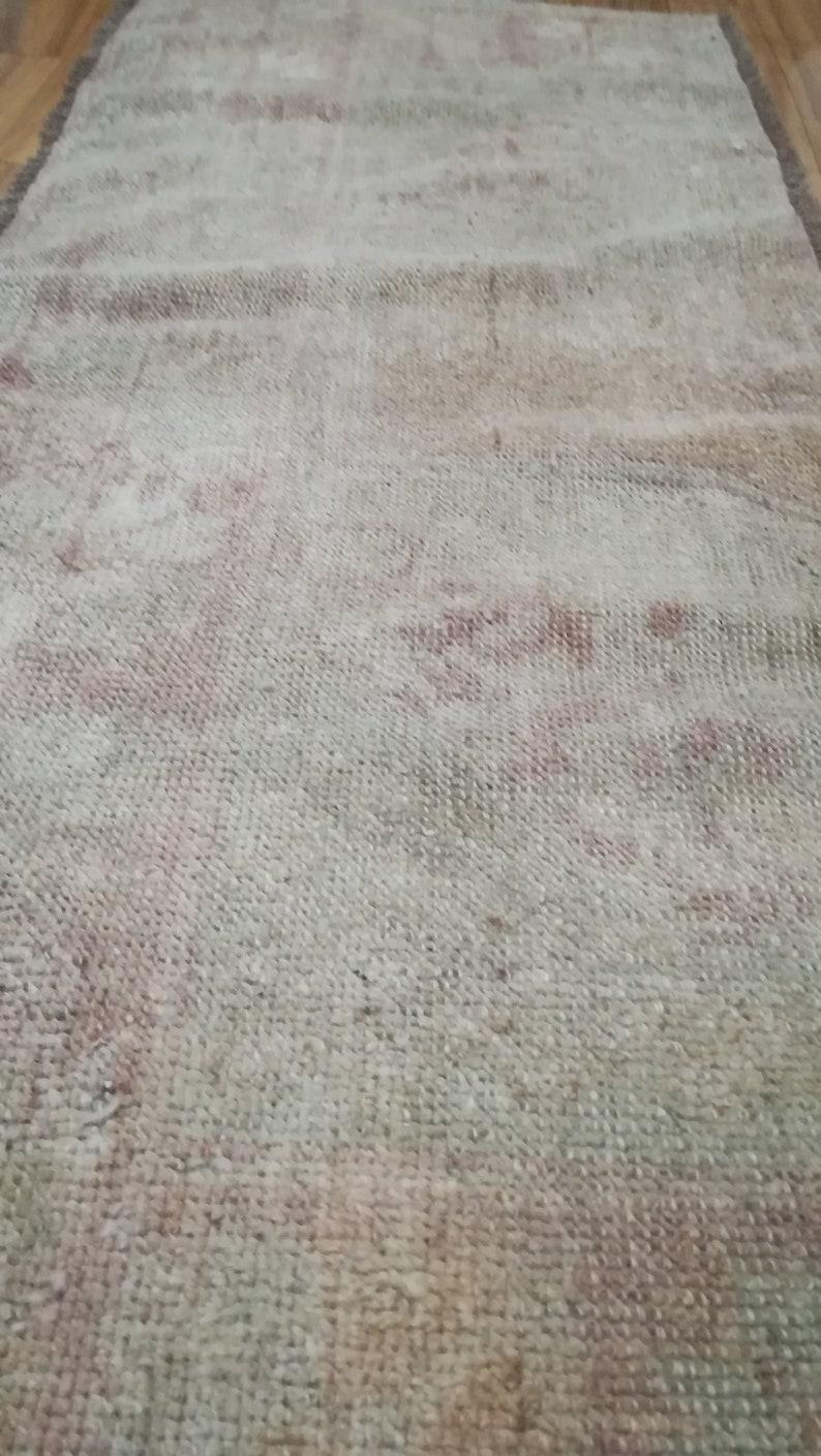 Small Kilim Rug 1.4x3.3ft,hand woven rug,front door mat,small runner rug,hallway rug,colorful rug,vintage turkish rug,rustic rug,kitchen rug