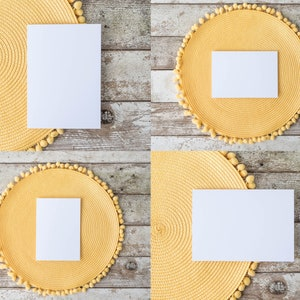wedding guest name tag mock ups buffet card mockups Place card mockups food tent card mock up