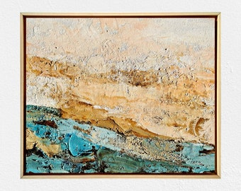 Original painting - Framed artwork - Art for home -Texture art
