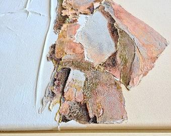 Original art - Wabi-Sabi - Texture abstract - Interior decor - Gallery wall decorations - Home interior - Living room interior
