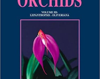 Book: Native Ecuadorian Orchids Vol. III Wonderfully illustrated Book on Ecuadorian Orchids.