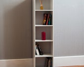 Oxford 5 Tier Cube Bookcase Display Shelving Storage Unit Wooden Stand White