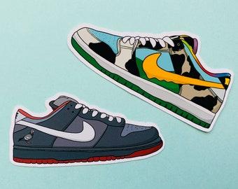 Sneakerhead Vinyl Stickers Set