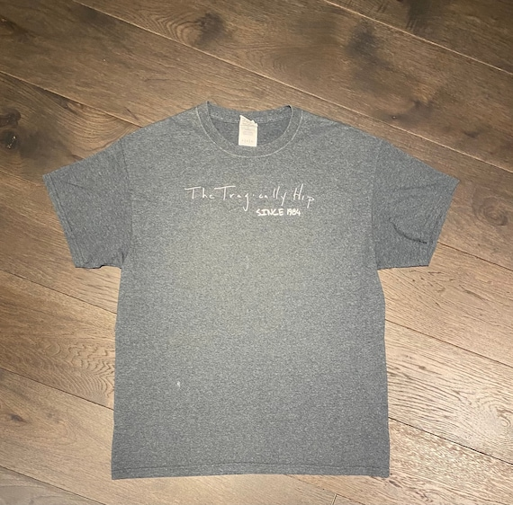 The Tragically Hip Last Concert Graphic Tee   Size