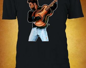 Kids Boys Girls Guitar Notation T-Shirt music guitarist player band