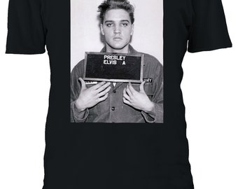 Elvis Pink Rock Adult Work Shirt